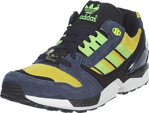 Adidas ZX 8000 d65460, Hombre Zapatillas, Hombre, Azul Amarillo, 48.5: Amazon.es: Deportes y aire libre