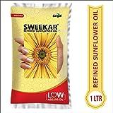 Sweekar Refined Sunflower Oil Lite, 1L