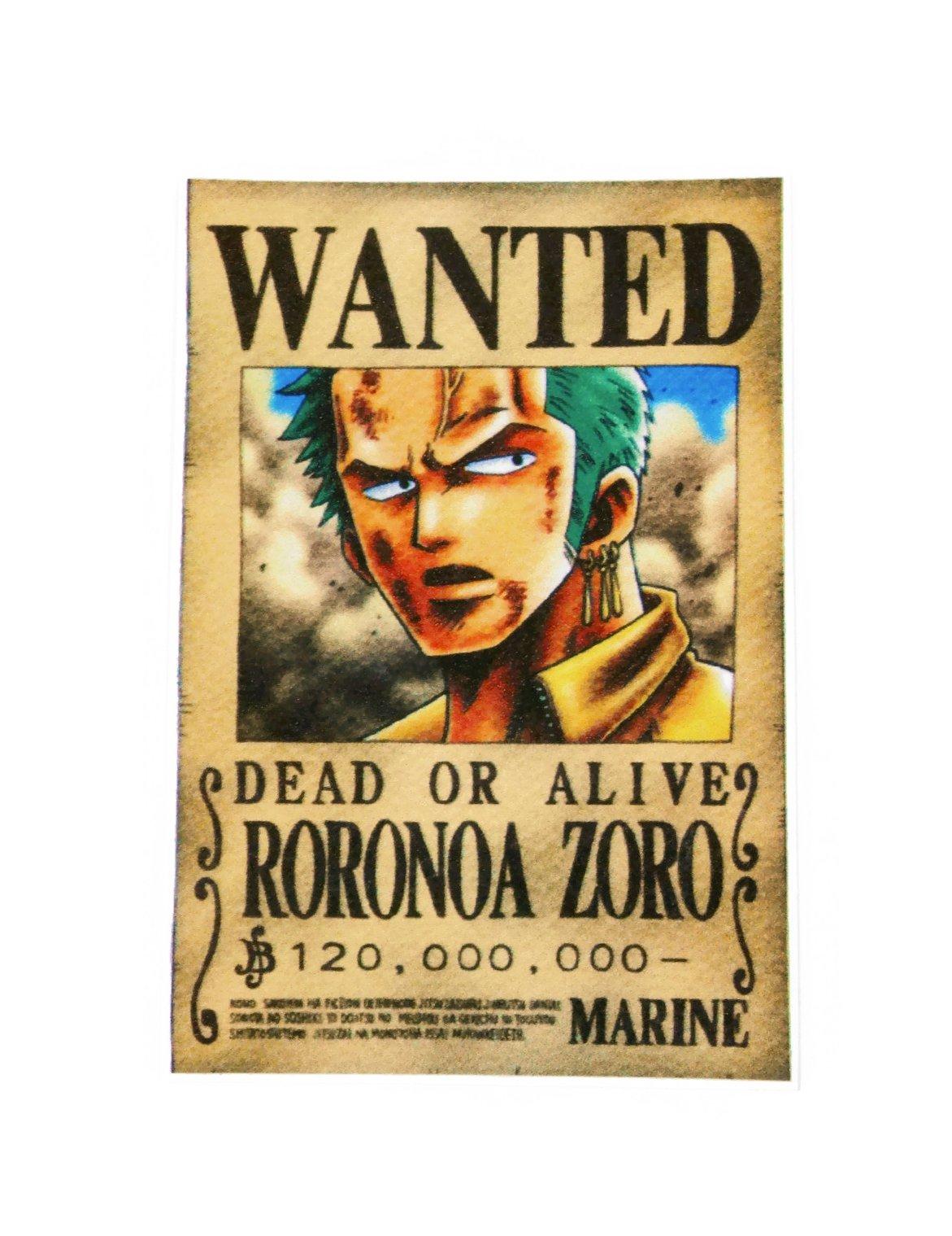 One Piece Roronoa Zoro Sticker Skateboard Laptop Luggage Decals Buy Online In Azerbaijan At Azerbaijan Desertcart Com Productid 26229090