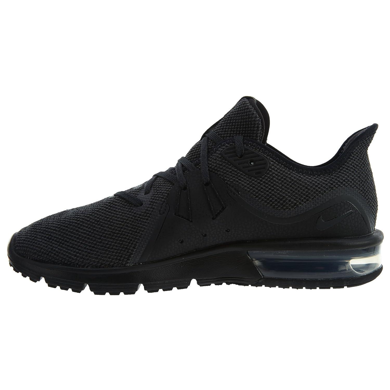 NIKE Women's Air Max Sequent 3 Running Shoe B06XV1ZVQD 6.5 B(M) US|Black/Anthracite