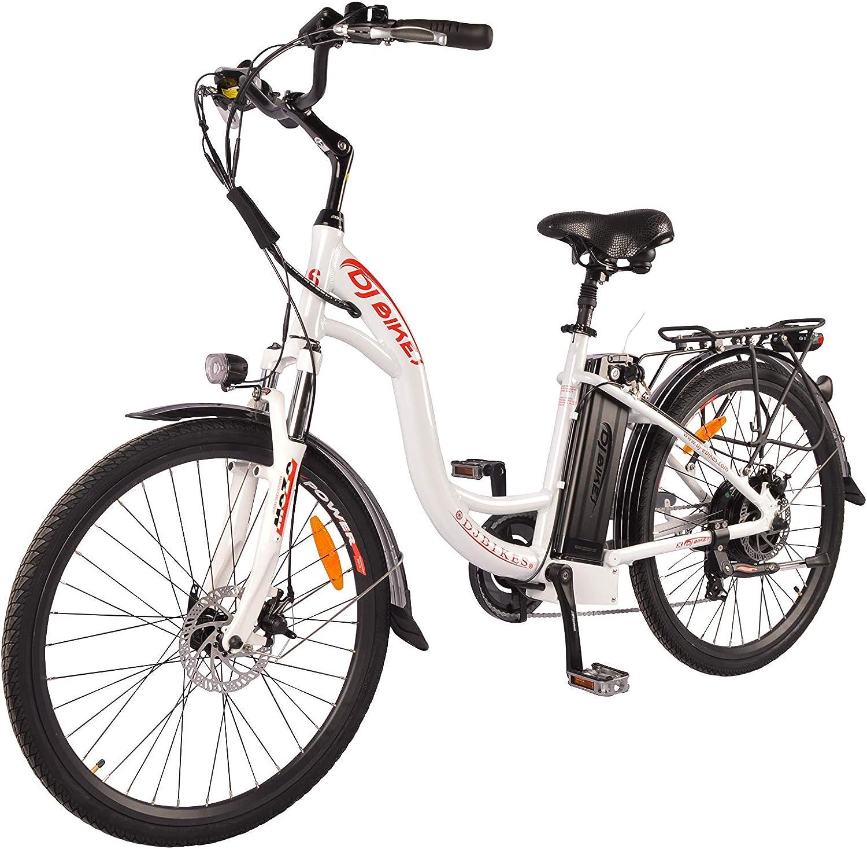 DJ 750W Step-Thru Power Electric Bicycle
