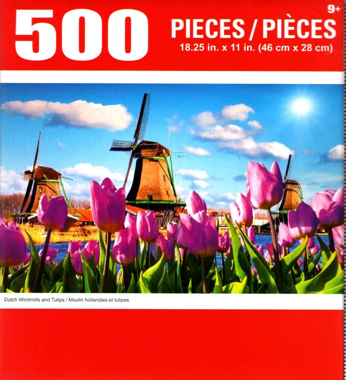 お待たせ! Cra-Z-Art B07G8MX3NP 500ピース ダッチウインドミル チューリップ 500ピース Cra-Z-Art ジグソーパズル B07G8MX3NP, 大きいサイズの下着店ミセスエール:0a5c4996 --- a0267596.xsph.ru