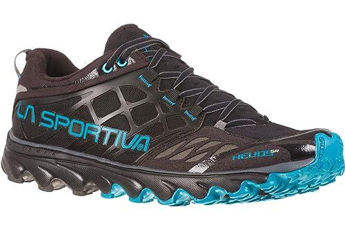 La Sportiva Helios SR Zapatillas de Trail Running Black/Tropic