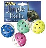 Pet Love Jingle Balls 4 Pack Katzenspielzeug, einen Artikel