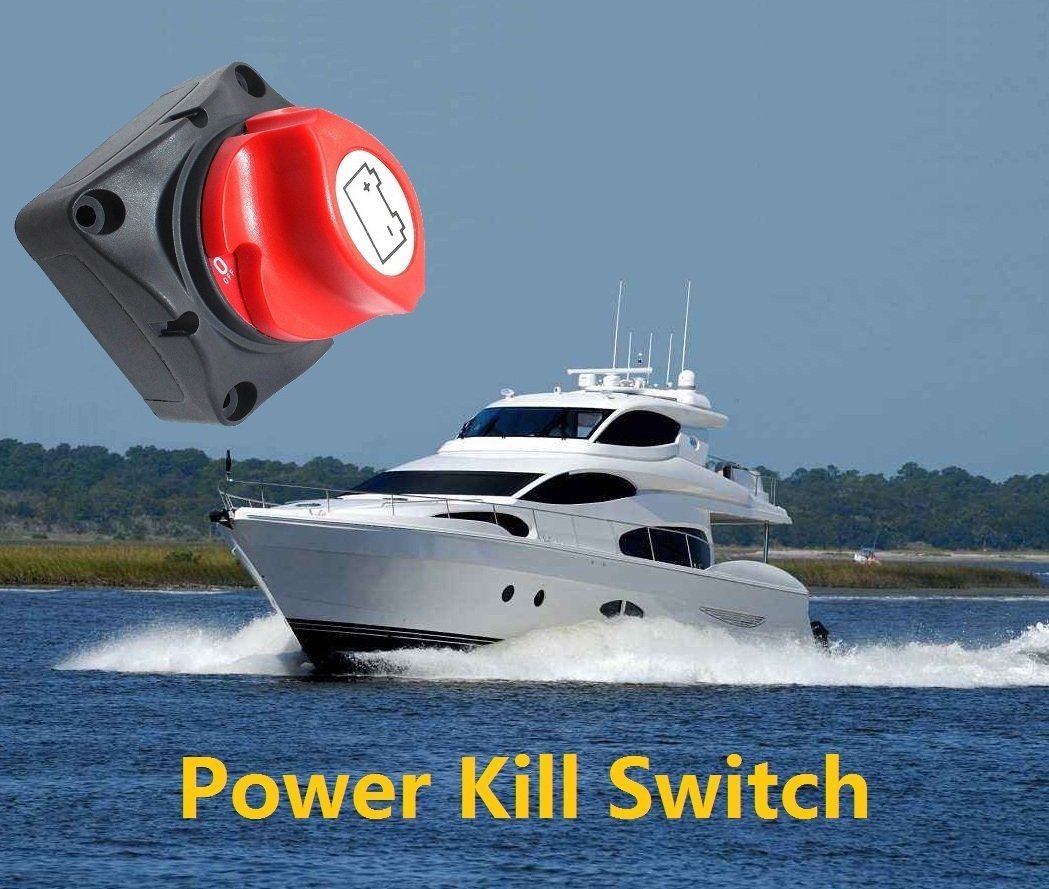 ANJOSHI Battery Switch Master Isolator Cut Off Kill Switch for RV ...