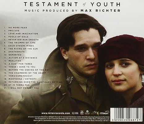 Testament Of Youth Original Soundtrack Amazoncouk Music