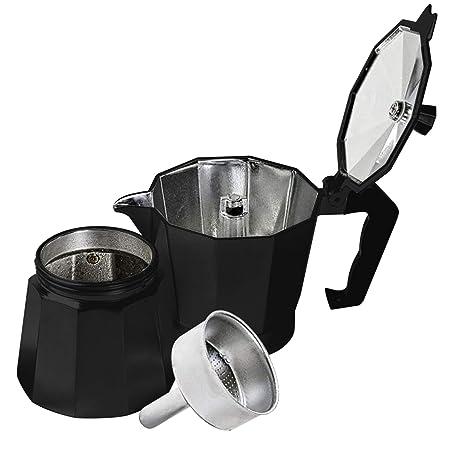Innova Premium STEAM - Cafetera de émbolo (acero de aluminio ...