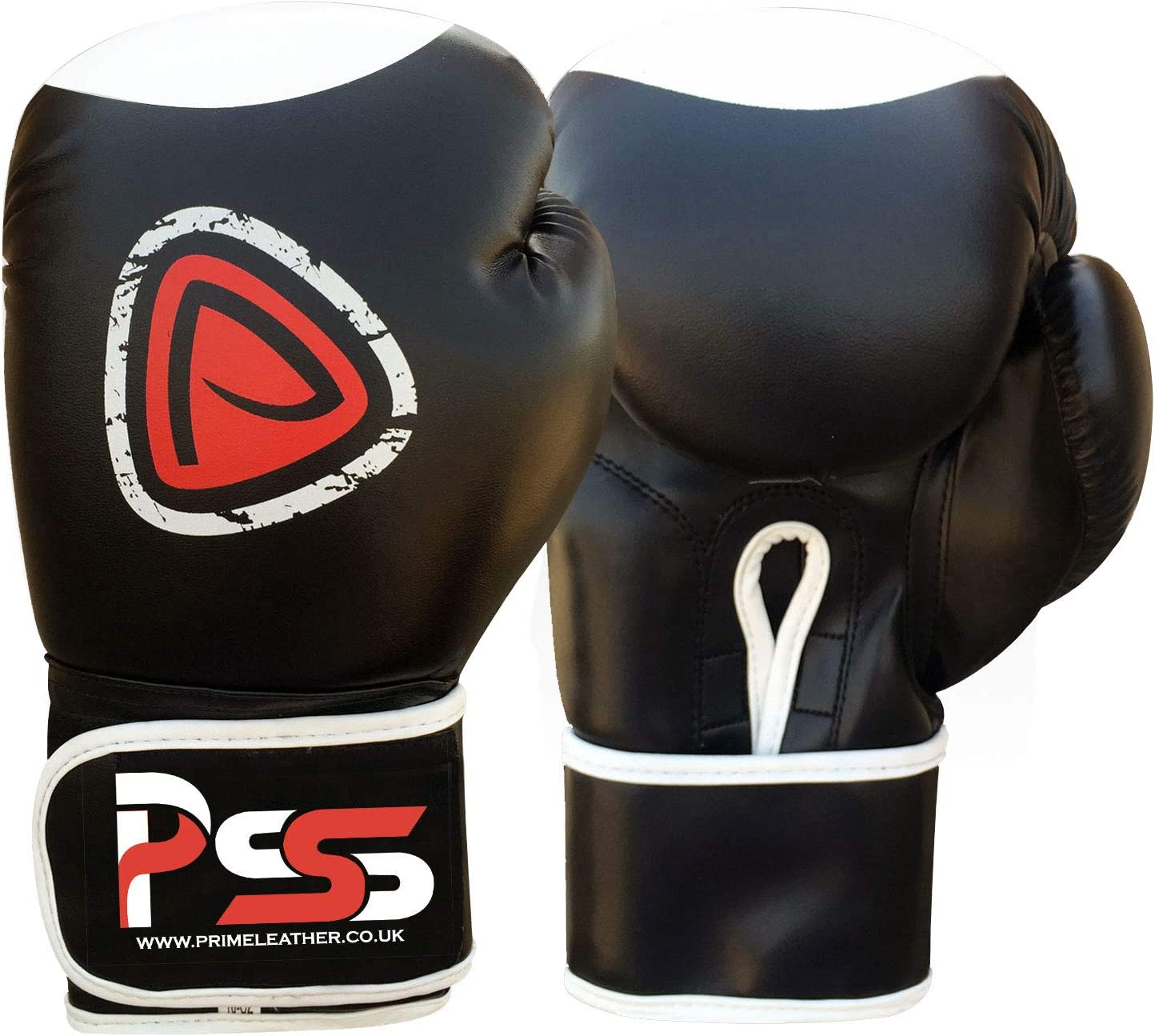 Juego de Guantes de Boxeo Prime Leather MMA S1 Almohadillas de Maquillaje para Mano