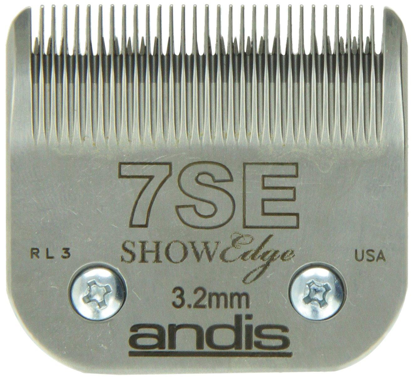 Andis Pet No.7SE Blade Set, 1/8-Inch, 3.2mm (65605)