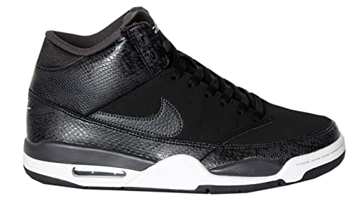 buy online 764ed e09b7 Nike Men s Air Flight Classic Basketball Shoes, Silver   (Black  Anthracite-Pure