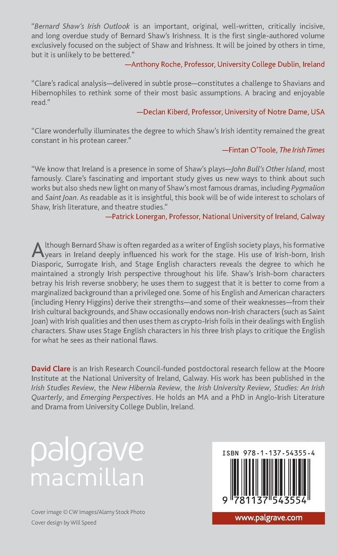 bernard shaw s irish outlook bernard shaw and his contemporaries bernard shaw s irish outlook bernard shaw and his contemporaries amazon co uk david clare 9781137543554 books