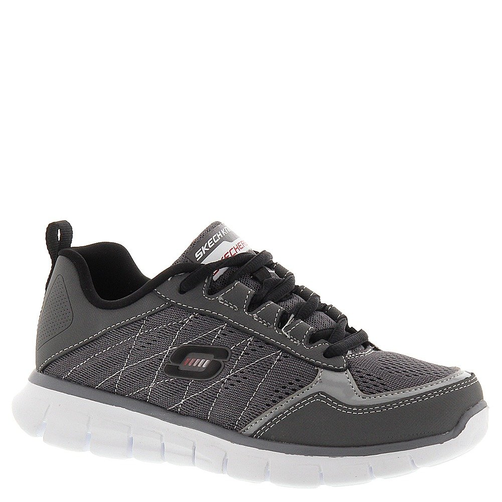 Skechers Boys' Synergy Power Switch,Gray/Black,US 12 M