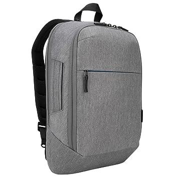 Targus CityLite Mochila Grey - Mochila para portátiles y netbooks (Grey, Monotone, 300