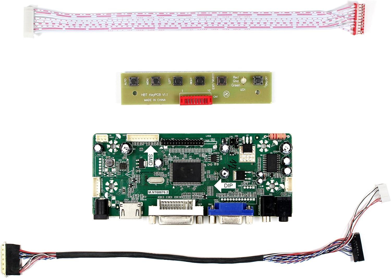 HDMI+DVI+VGA Controller Board Driver kit for LCD Panel LP140WD2-TLB1