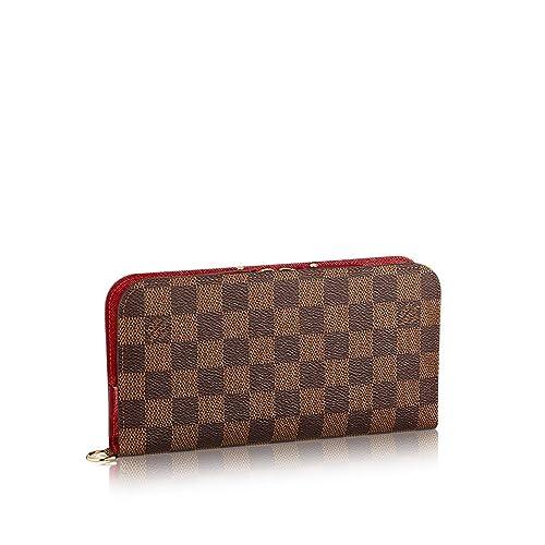 Louis VUITTON, diseño de damero Ebene Lienzo insolite Cartera n63547: Amazon.es: Zapatos y complementos