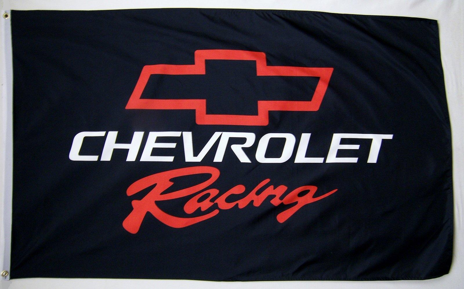 Chevrolet Racing Car Flag 3' X 5' Indoor Outdoor Automotive Banner