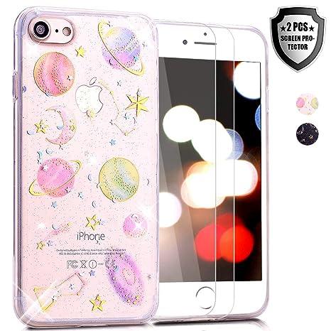 coque silicone etoile iphone 8