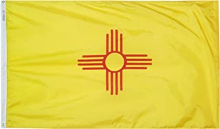 product image for Annin Flagmakers Model 143760 New Mexico State Flag 3x5 ft. Nylon SolarGuard Nyl-Glo 100% Made in USA to Official State Design Specifications.