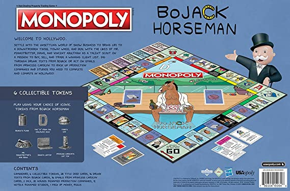 Bojack Horseman Monopoly Collectors Edition Board Game: Amazon.es: Juguetes y juegos