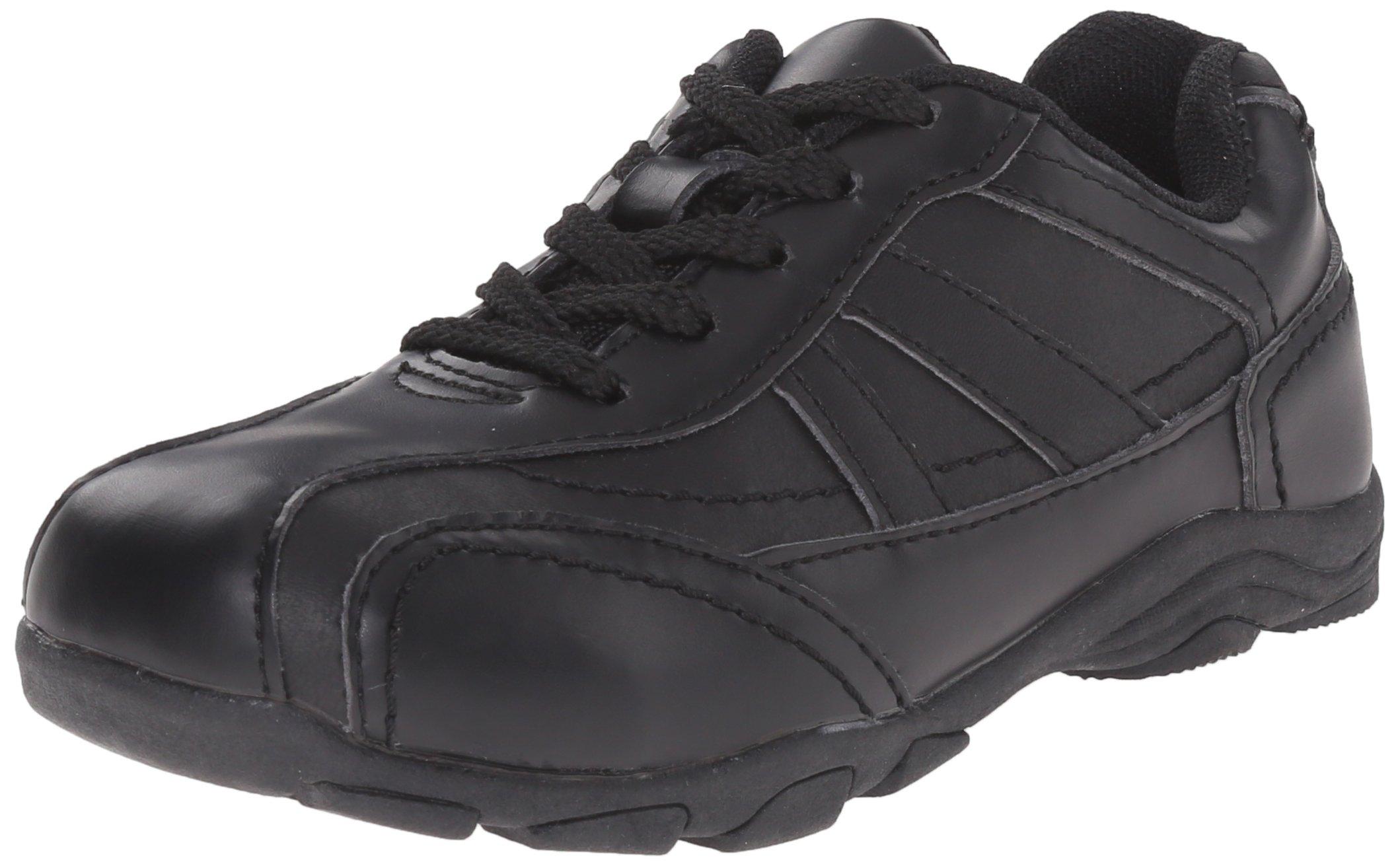 Classroom School Uniform Shoes Rover Trainer (Toddler/Little Kid/Big Kid),Black,11 M US Little Kid