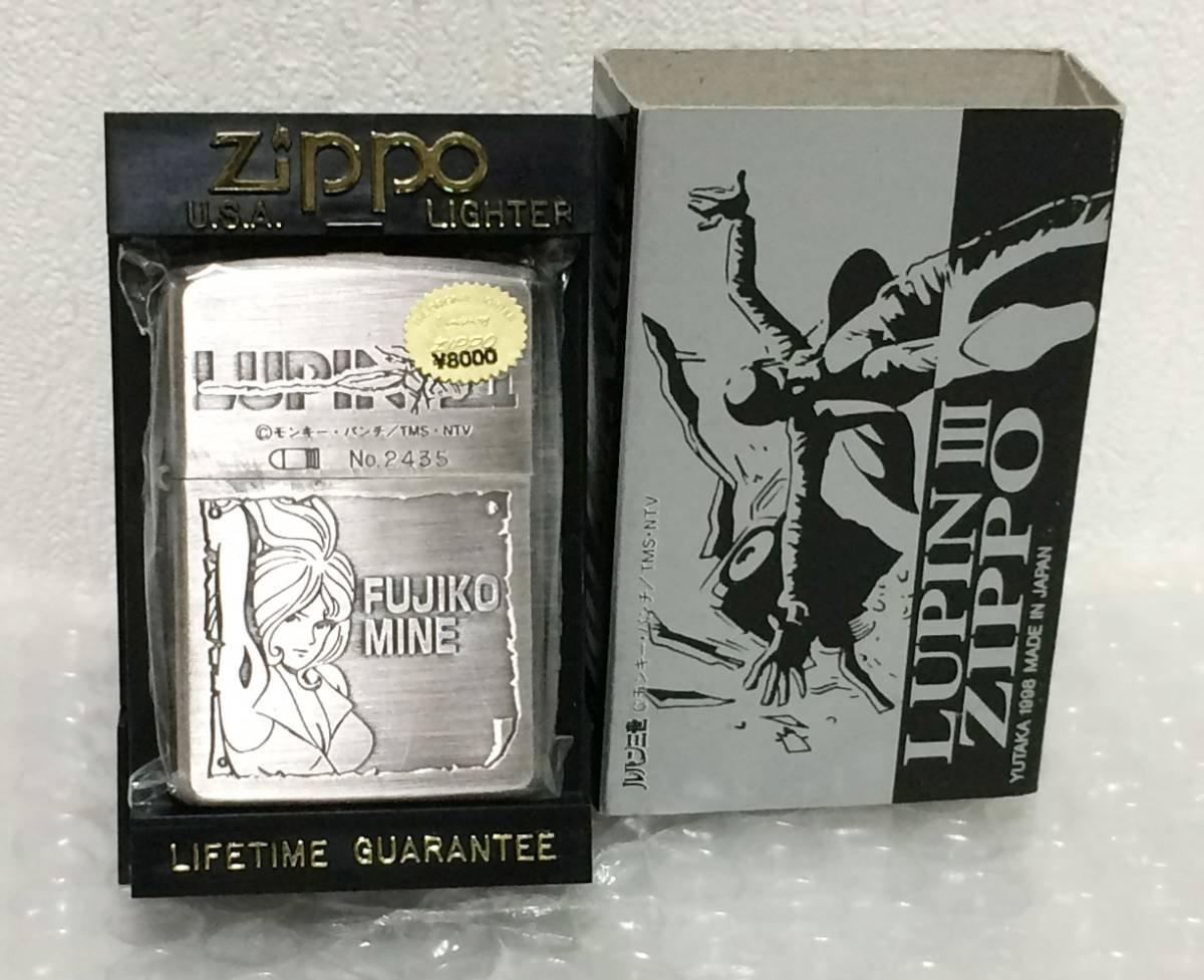 限定 ジッポ ZIPPO LUPIN ルパン 三世 峰 不二子 MINE FUJIKO 1998年製 モンキーパンチ B07BNKVJDF