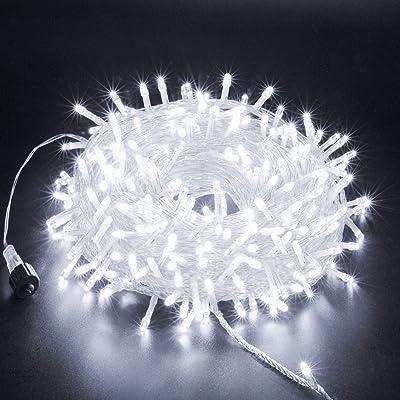 XUNXMAS Cool White Fairy String Light 300 LED