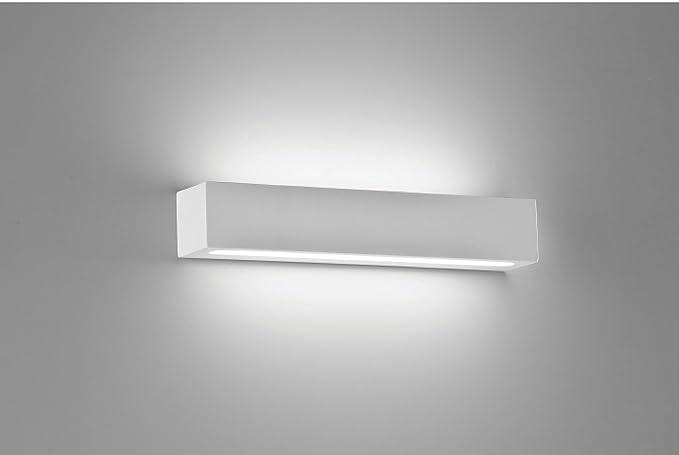 Cubetto applique l h sp lampada da parete montatura