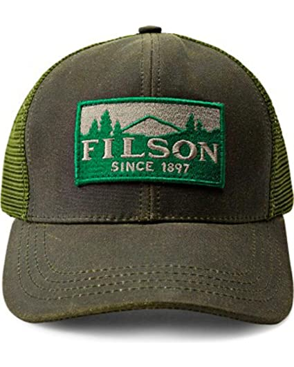 prix bas Style classique qualité Filson - Logger Casquette Homme Otter Green - Taille Unique ...