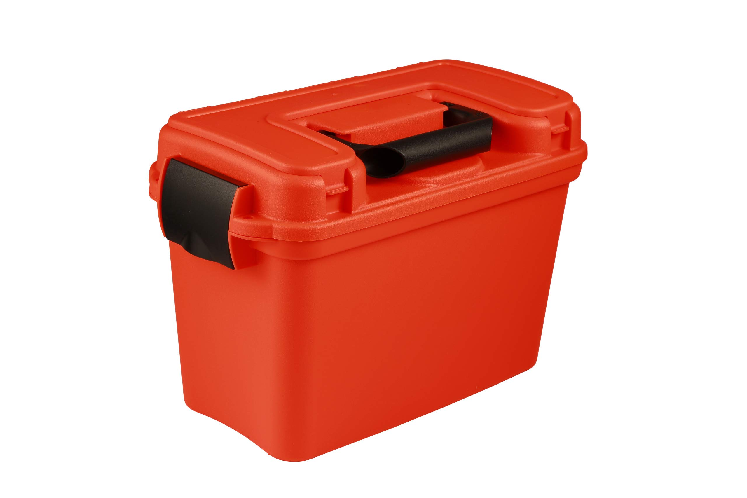 attwood 11834-1 Waterproof Boater's Dry Box, Bright Safety Orange by attwood