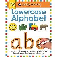 Lowercase Alphabet Wipe and Clean Workbooks