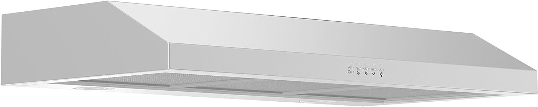 ZLINE 30 in. 600 CFM Under Cabinet Range Hood in Stainless Steel - Hardwired Power (615-30)