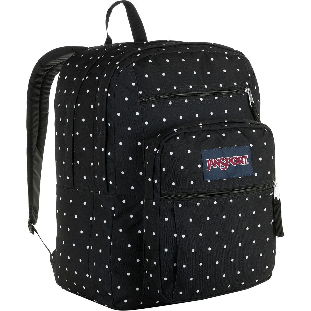 JanSport Big Student Black Polka Dot One Size