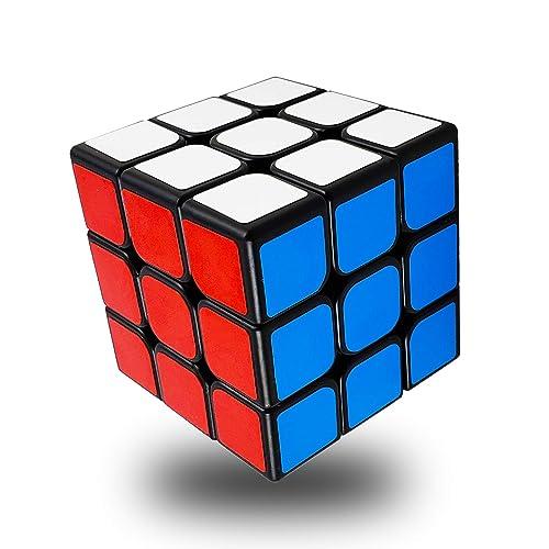 FAVNIC Speed Cube 3X3X3 Magic Cube Smooth Speed Magic Cube Puzzle (3X3X3)