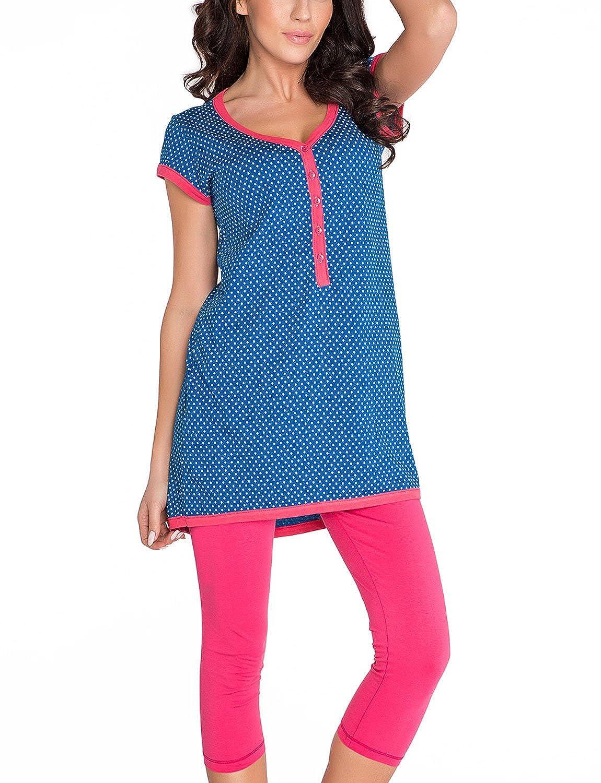 Dobranocka 5037 Doux Pyjama Grossesse PM.5037