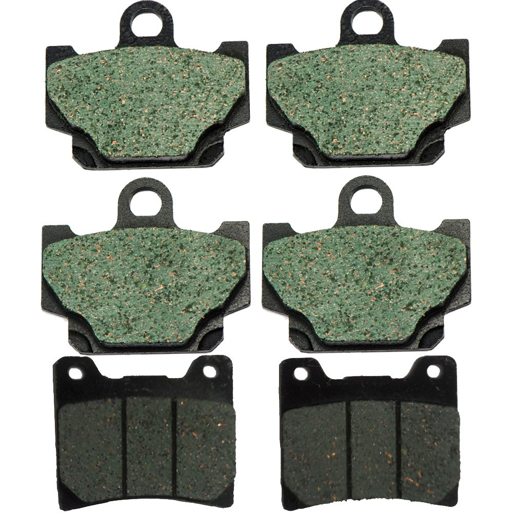 Foreverun Motor Front and Rear Brake Pads for Yamaha RZ 350 1984-1985