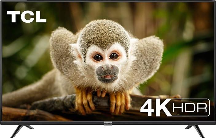TALLA 55 pulgadas. TCL 55DP602, Televisor de 55 pulgadas, Smart TV con UHD 4K, HDR, Dolby Digital Plus, T-Cast y sintonizador Triple, Color Negro