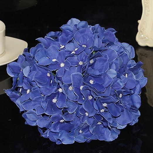100 Kunstliche Hortensie Blumenstrauss Brautschmuck Seide Blumen