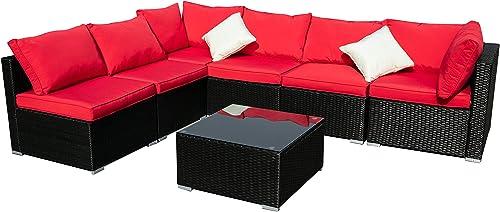 Diophros 7 Pieces Patio Furniture Set