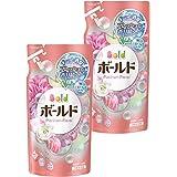 【まとめ買い】 ボールド 洗濯洗剤 液体 香りのサプリインジェル プラチナフローラル&サボンの香り 詰め替え 超特大 1.26kg×2個