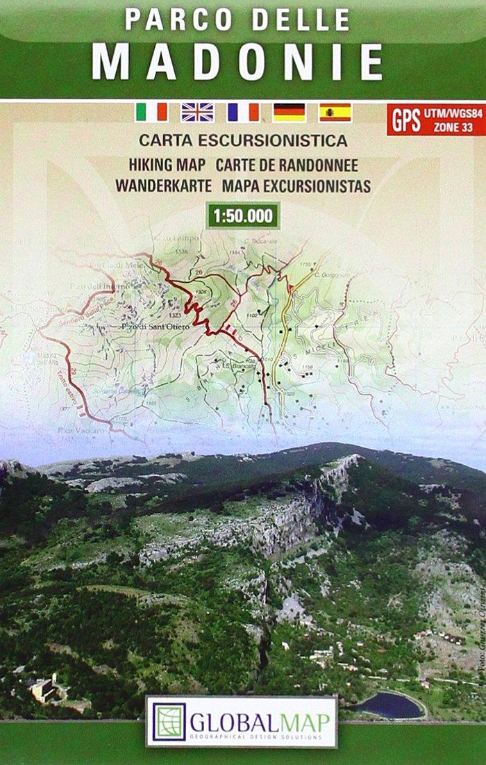 Parco delle Madonie 1 : 50 000 Carta Escursionistica