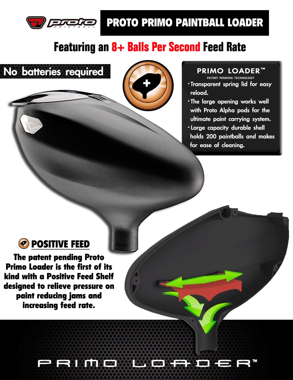 Amazon.com : MAddog Spyder Fenix Elite Remote CO2 Paintball ...