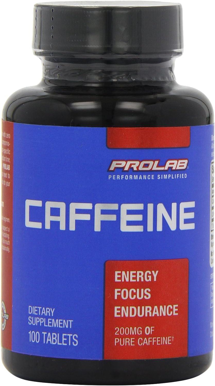 Caféine, 200 mg, 100 comprimés - ProLab