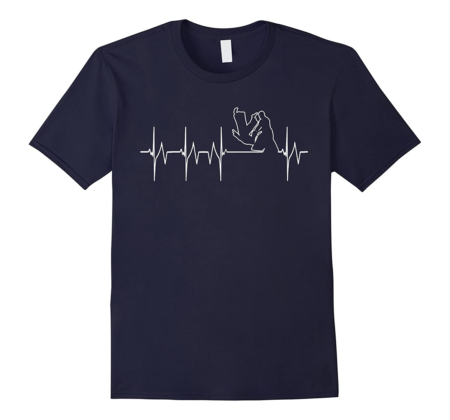 Heart beat shirt - Aikido shirt-TD