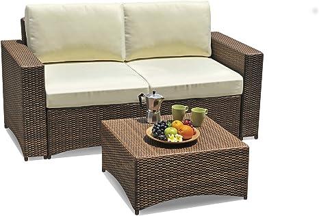 Amazon Com W Unlimited Studio Shine Collection Modular Loveseat Set Love Seat Coffee Table Dark Brown Furniture Decor