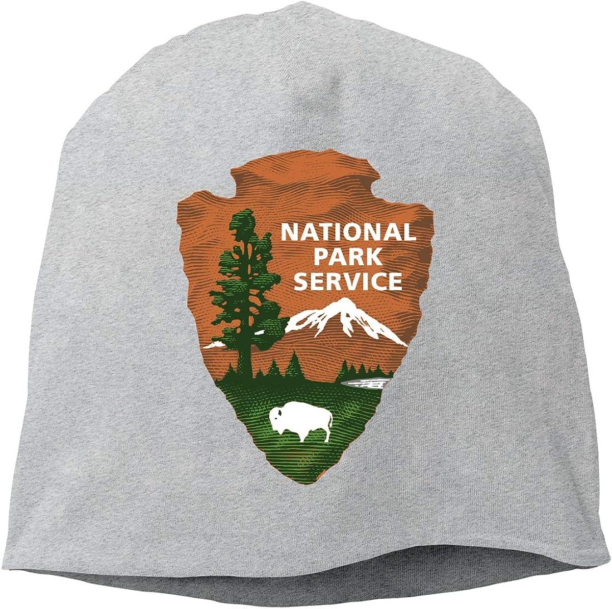 US National Park Logo Unisex Knitted Hat Beanie Hat Warm Hats Skull Cap Beanie Hat