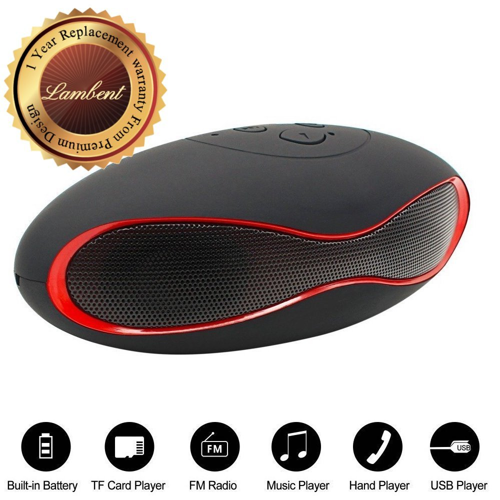 Lambent Premium Design Wireless Bluetooth Rugby Speaker.
