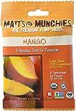 Matt's Munchies Organic Fruit Snack (1-Ounce Bag), Mango, 12 Pack