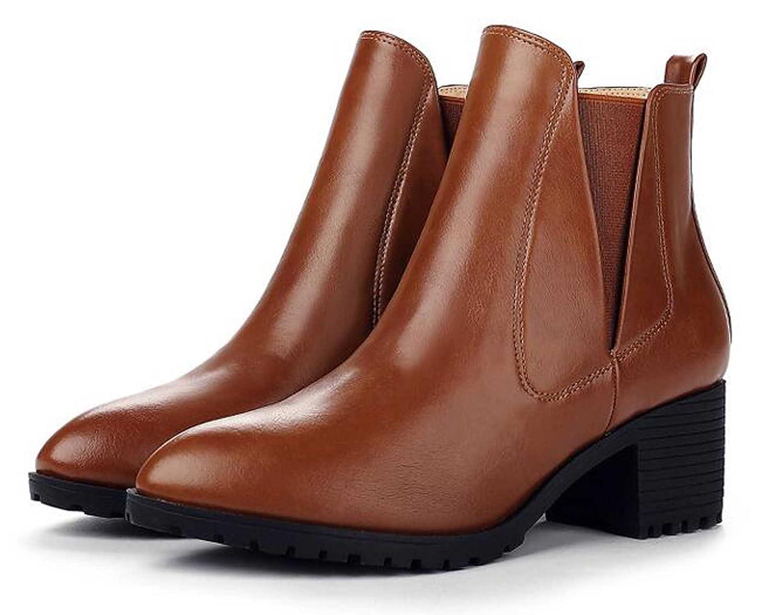 17b6409d4 chic Womens Clealsea Zip Fashion Heeled Short Boot ...
