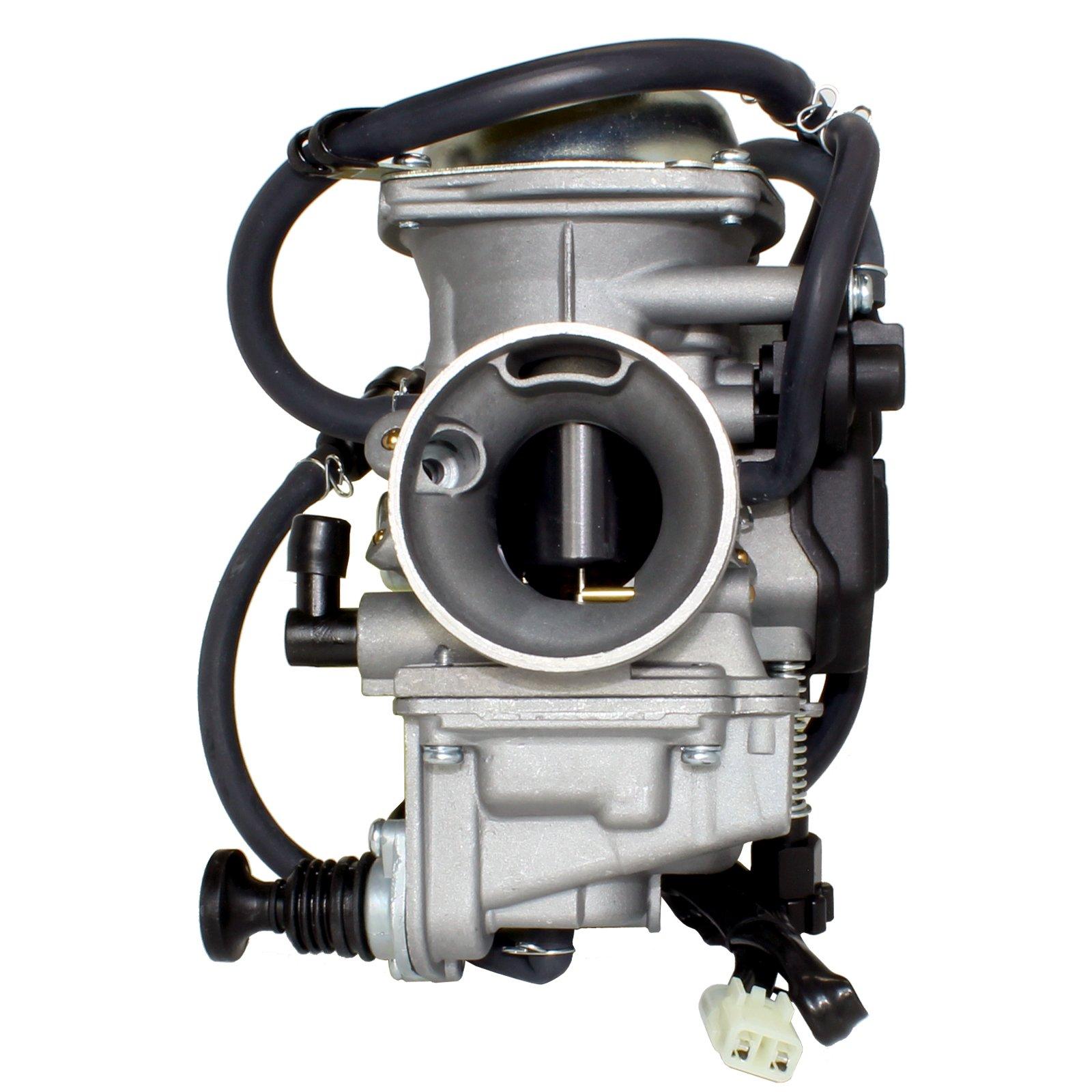 Caltric Carburetor Fits Honda 350 Rancher TRX350FE TRX350FM 2000-2003 New Carb by Caltric (Image #3)