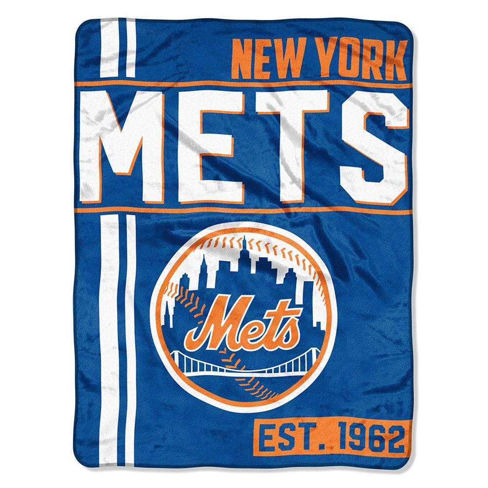 The Northwest Company MLB New York Mets Micro Raschel Throw, One Size, Multicolor